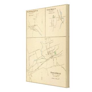 Forestville, S Glastonbury, E Berlin Canvas Print