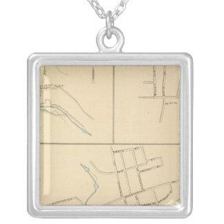 Forestville, S Glastonbury, E Berlin Silver Plated Necklace