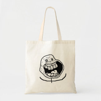 Forever Alone Tote Bags
