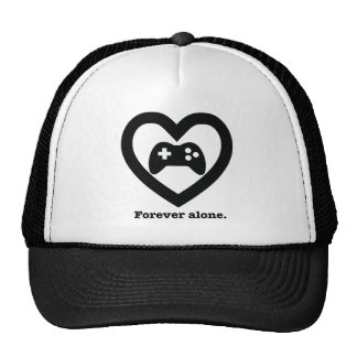 Forever alone. cap