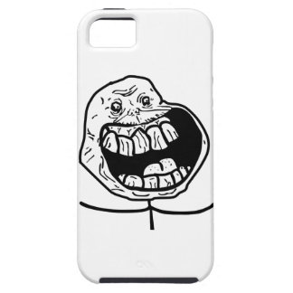 forever alone face iPhone 5 case