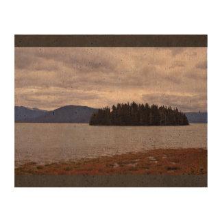 Forever Alone In Alaska Cork Paper