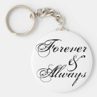 Forever Always Keychain