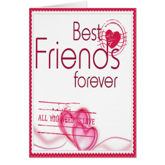 Forever Beat Friends Greeting Card