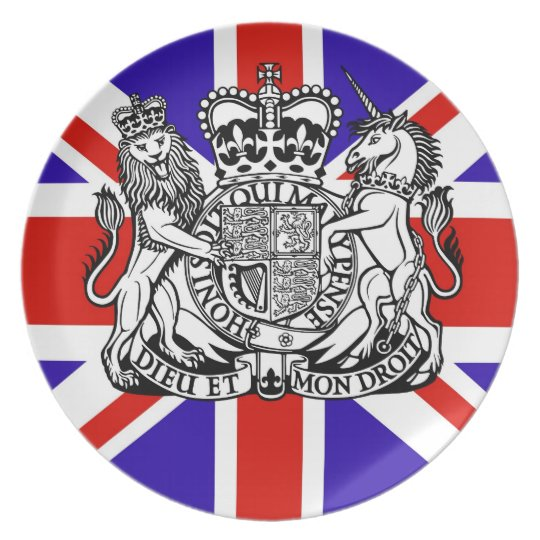 Forever British Plate