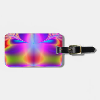 Forever Color Fractal Luggage Tag