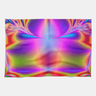 Forever Color Fractal Tea Towel