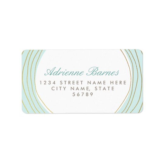 Forever | Custom Background Colour Address Labels