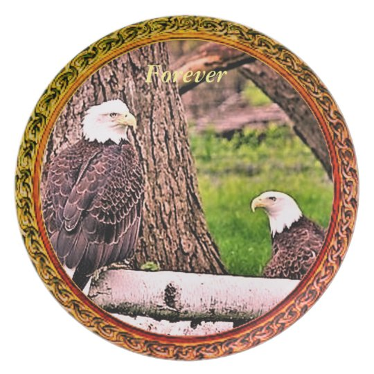 Forever Eagle Collection Plate