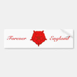 Forever England Bumper Sticker