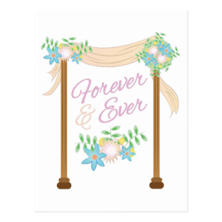 Forever & Ever Postcard