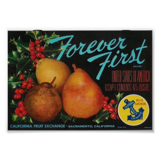 forever first pears poster