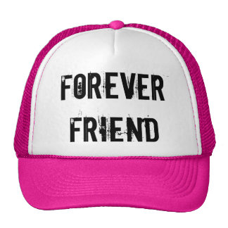 FOREVER FRIEND TRUCKER HAT PINK