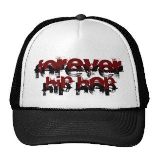 Forever Hip Hop Black And White Hat