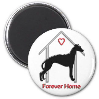Forever Home 6 Cm Round Magnet