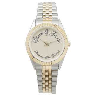 Forever in love french ladies watch