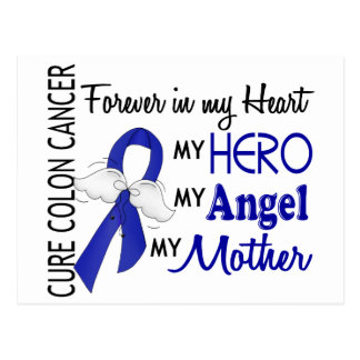 Forever In My Heart Mother Colon Cancer Postcard
