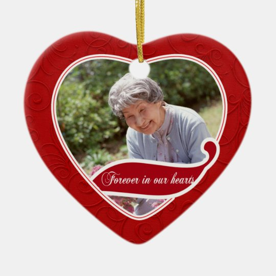 Forever in our Hearts Christmas Christmas Ornament
