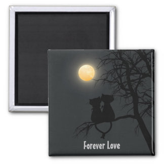 Forever Love 2 inch Square Magnet