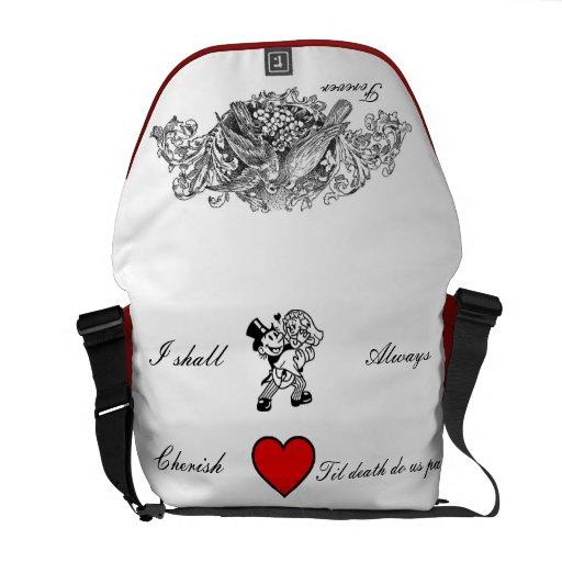 Forever Lovebirds - Rickshaw Messenger Bag