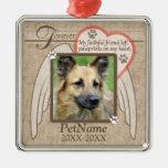 Forever Loved Angel Wings Pet Sympathy Custom