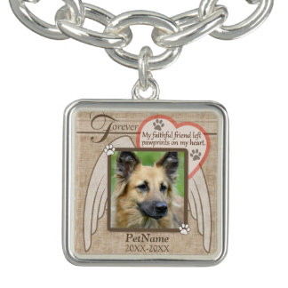 Forever Loved Angel Wings Pet Sympathy Custom
