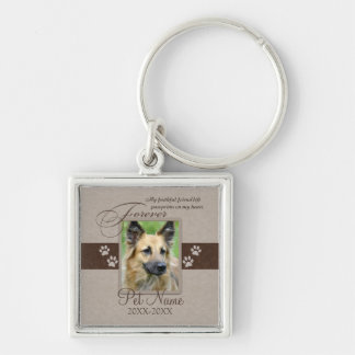 Forever Loved Pet Sympathy Key Ring