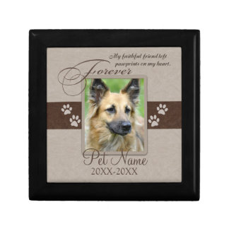 Forever Loved Pet Sympathy Small Square Gift Box