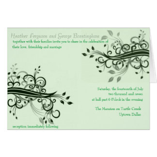 forever mint greeting card
