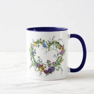 Forever Pansies Mug