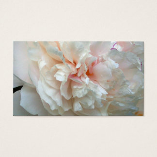 Forever Peony Business Card