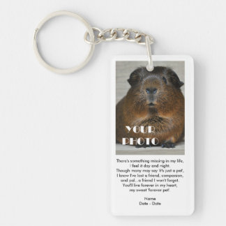 Forever Pet Pet Memorial Keychain