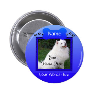 Forever Remembered Dog or Cat Memorial 6 Cm Round Badge
