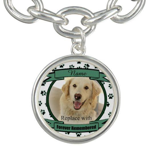 Forever Remembered Pet Memorial - Green