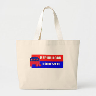 FOREVER REPUBLICAN TOTE BAG