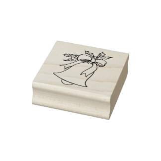 Forever Ring Christmas Rubber Stamp