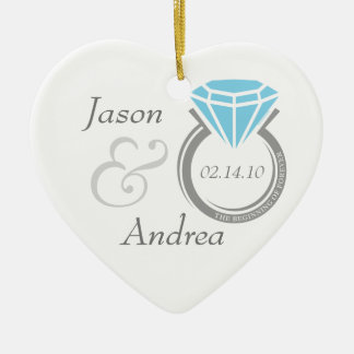 Forever Ring Personalized Ornament