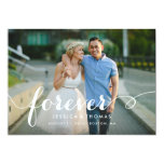 Forever Save the Date Overlay 13 Cm X 18 Cm Invitation Card