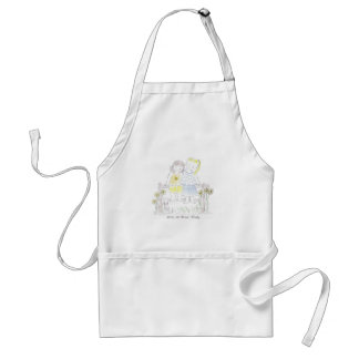 Forever_sisters Standard Apron