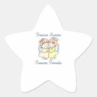 FOREVER SISTERS STAR STICKER