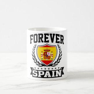 Forever Spain Basic White Mug