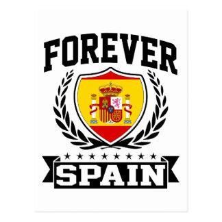 Forever Spain Postcard