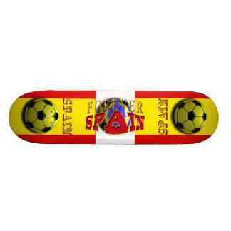 Forever Spain Soccer Skateboard