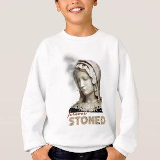 Forever Stoned Statue Smoking Sweatshirt