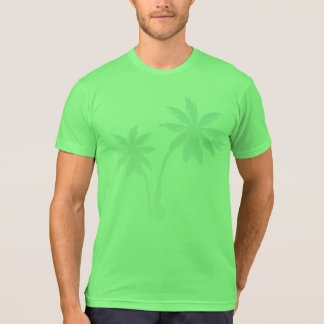Forever Summer 365 Lime Faded Palm Trees T-Shirt