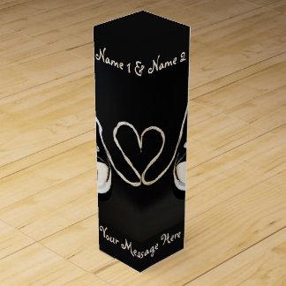 Forever Together custom wine gift box