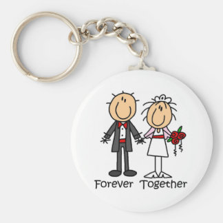 Forever Together T-shirts and Gifts Key Ring
