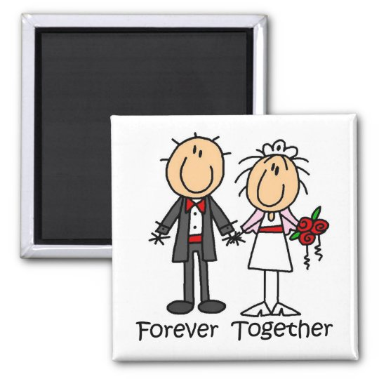 Forever Together T-shirts and Gifts Magnet
