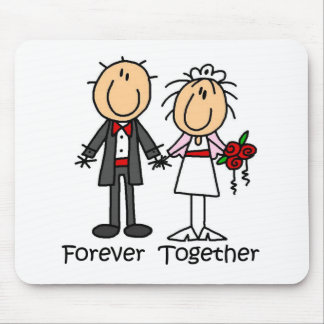 Forever Together T-shirts and Gifts Mouse Pad