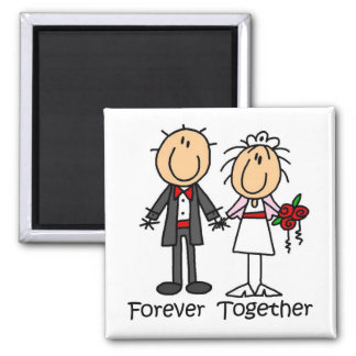 Forever Together T-shirts and Gifts Square Magnet
